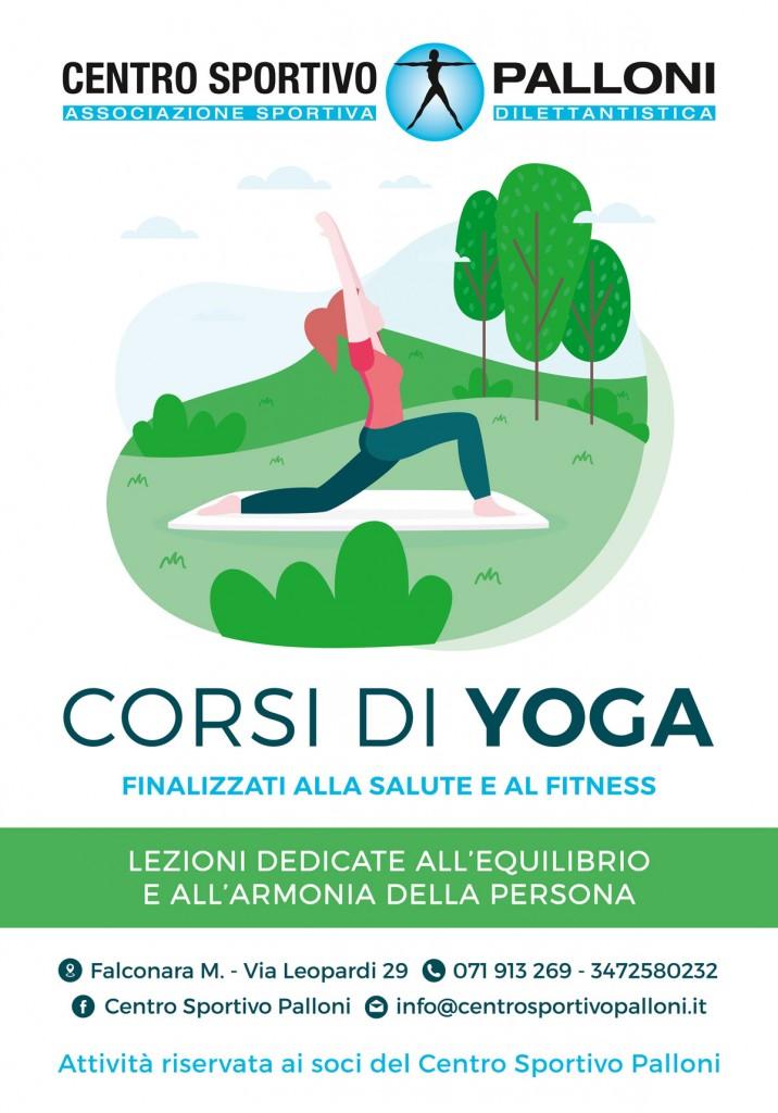 Yoga Centro sportivo Palloni Palestra
